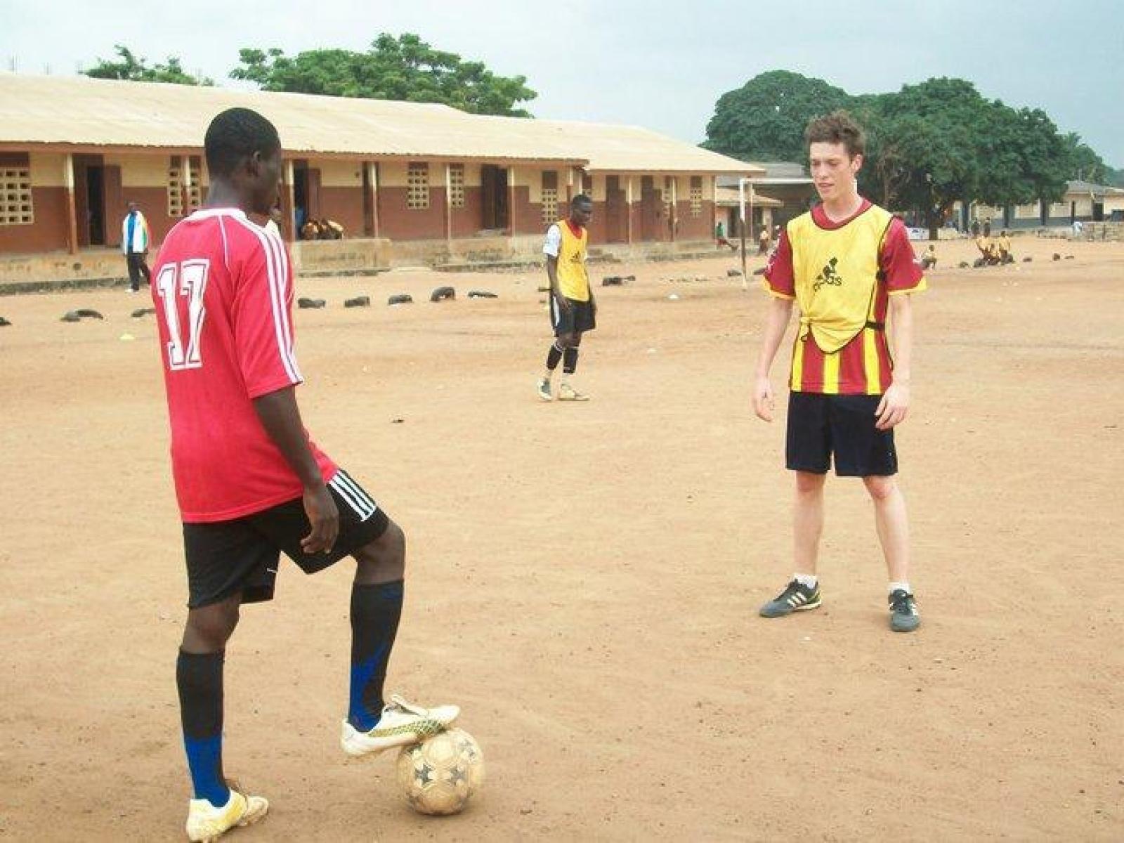 Baptiste P au Ghana